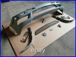 E55 Ang Complet Sport Style Neuf Avant Pare-Choc pour Mercedes w211 02-06 + Fog