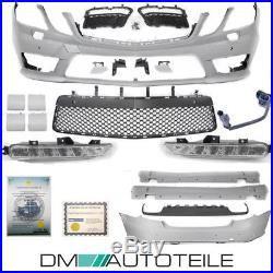 Mercedes W212 AMG LOOK E63 Parechoc Pack KIT complet Bodykit PDC 09-13 Phase 1