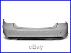 Pare choc arriere Mercedes W212 berline 09-13 look AMG PDC ABS a peindre (E06)